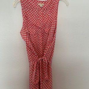 GAP Design & Crafted Sleeveless Dress Button UP